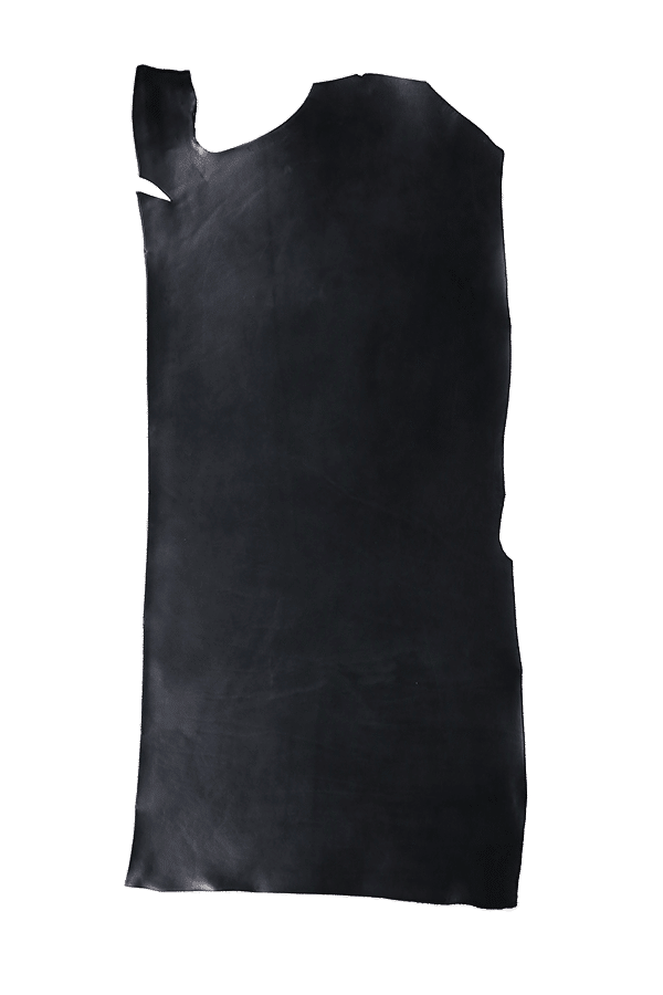 English Bridle Bend Black Hide