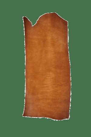 English Bridle Bend Tan Hide