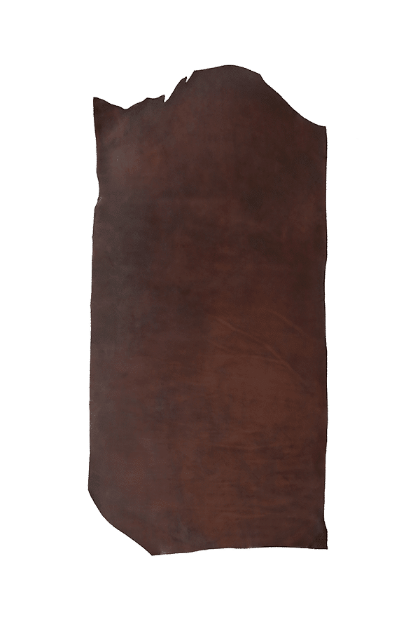 English Bridle Bend Walnut Hide